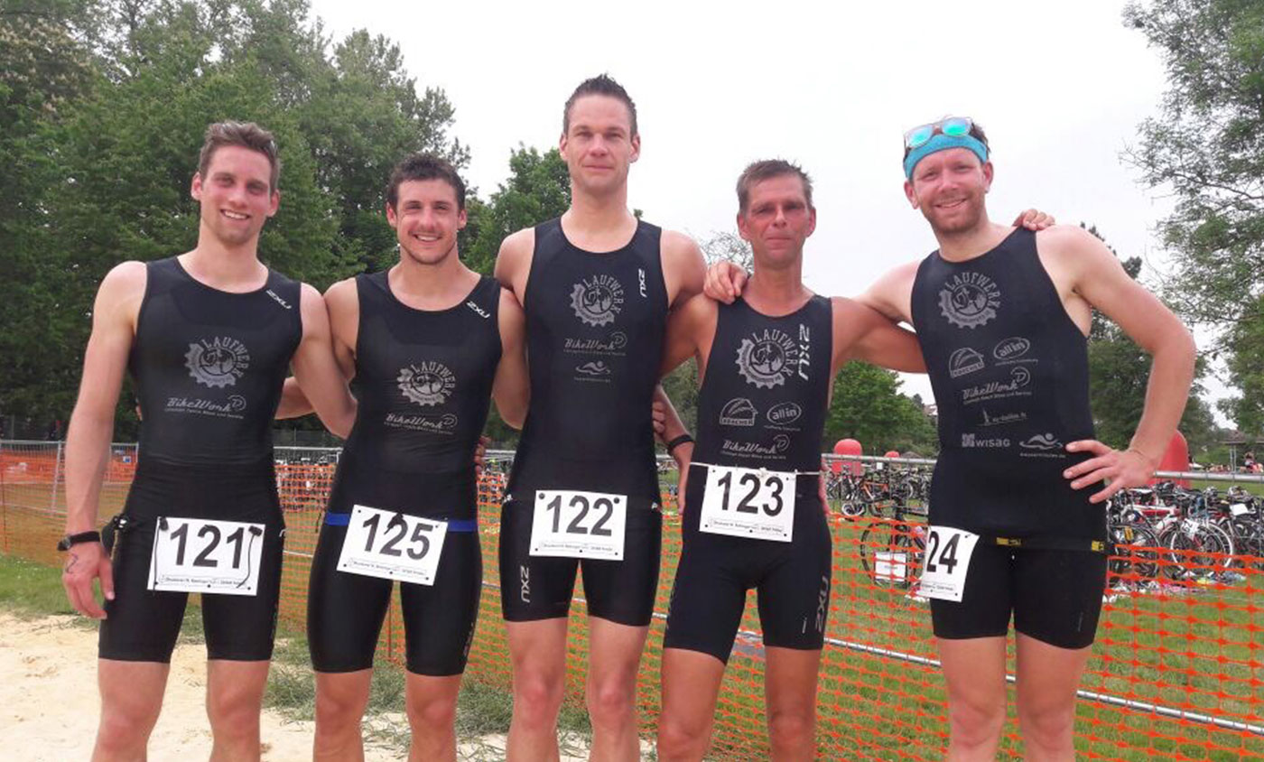 Triathlon - Siebter Platz in Fritzlar