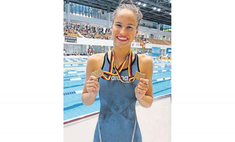 Barbara Schaal vierfache Deutsche Meisterin