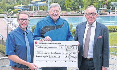 2000 Euro für den Schwimmverein