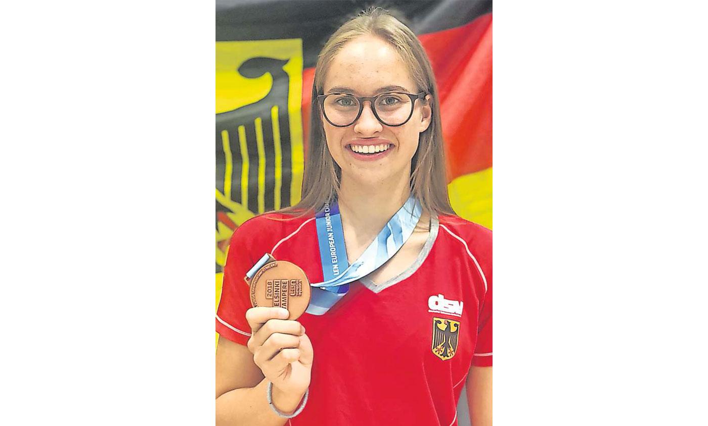 Barbara Schaal holt zweimal EM-Bronze