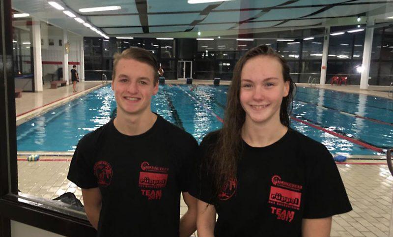 Schomann und Betz schwimmen für Hessen