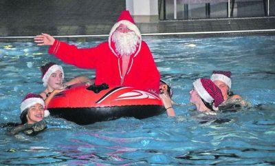 Weihnachtsschwimmen