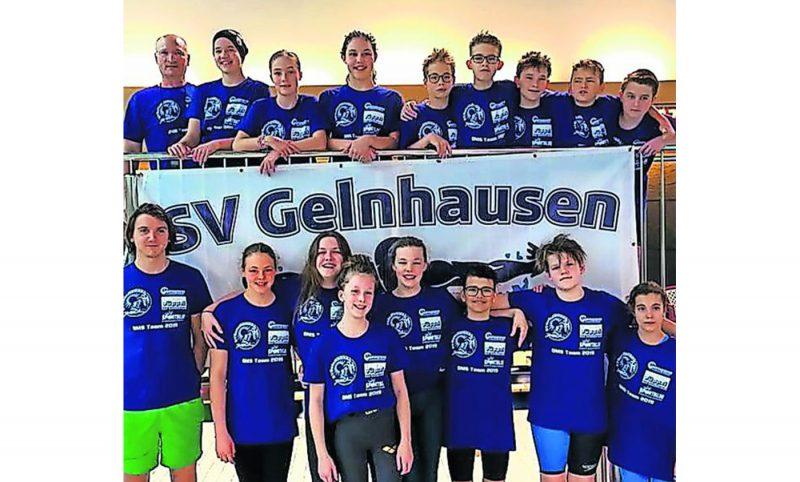 SV Gelnhausen - Die SVG-Starter beim Wettkampf in Frankfurt.
