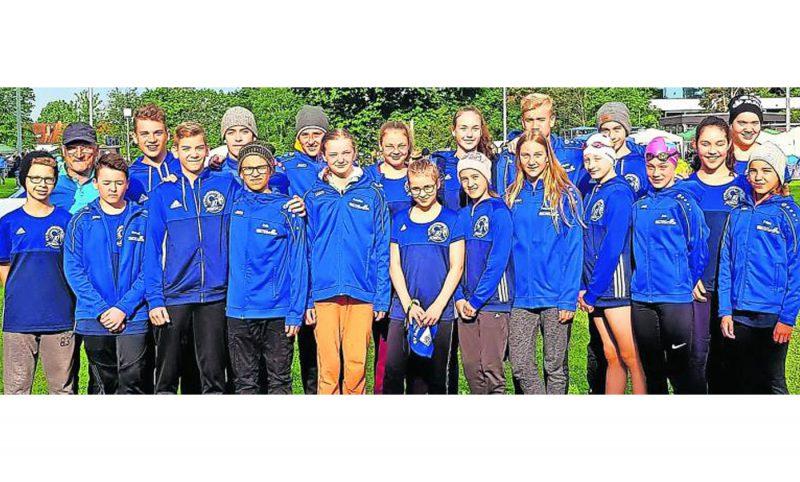 Der SV Gelnhausen überzeugte bei den Bezirksmeisterschaften