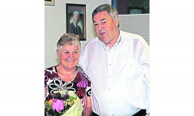 Dr. Rolf Müller verabschiedet Katharina Volz