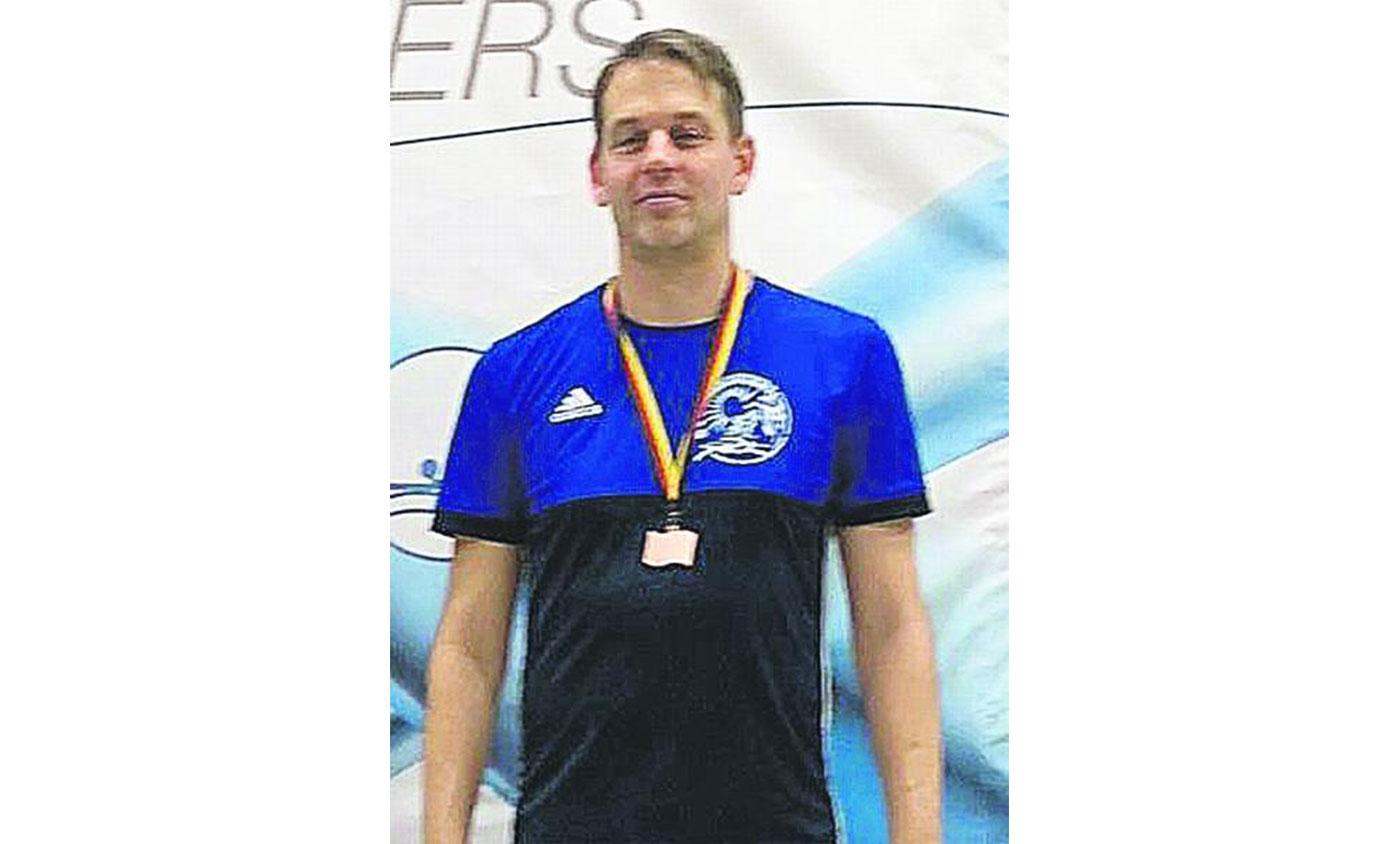 Dirk Janssen mit Bronzemedaille