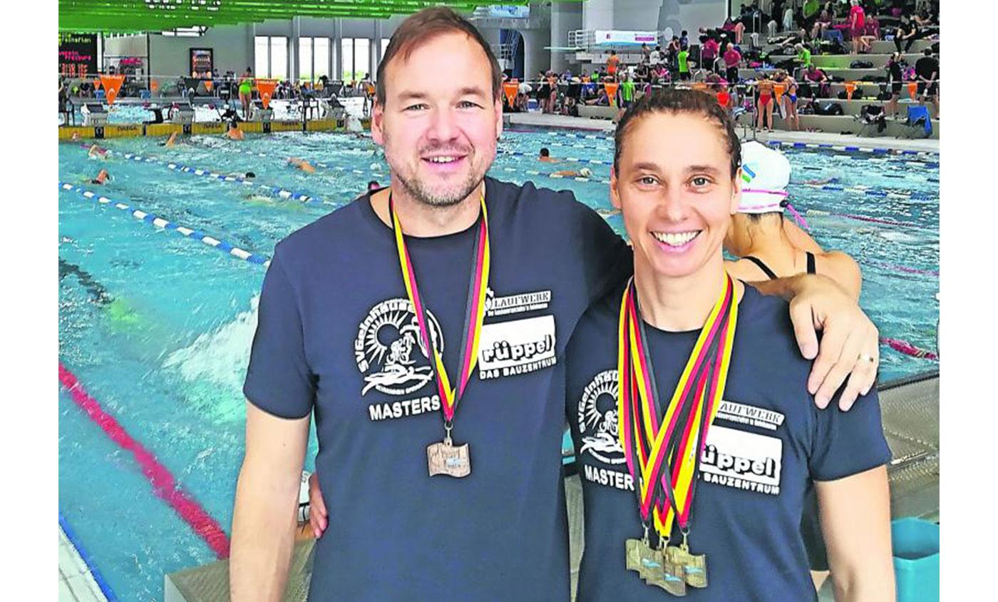Erfolgreiches Ehepaar: Antje und Steffen Auhl