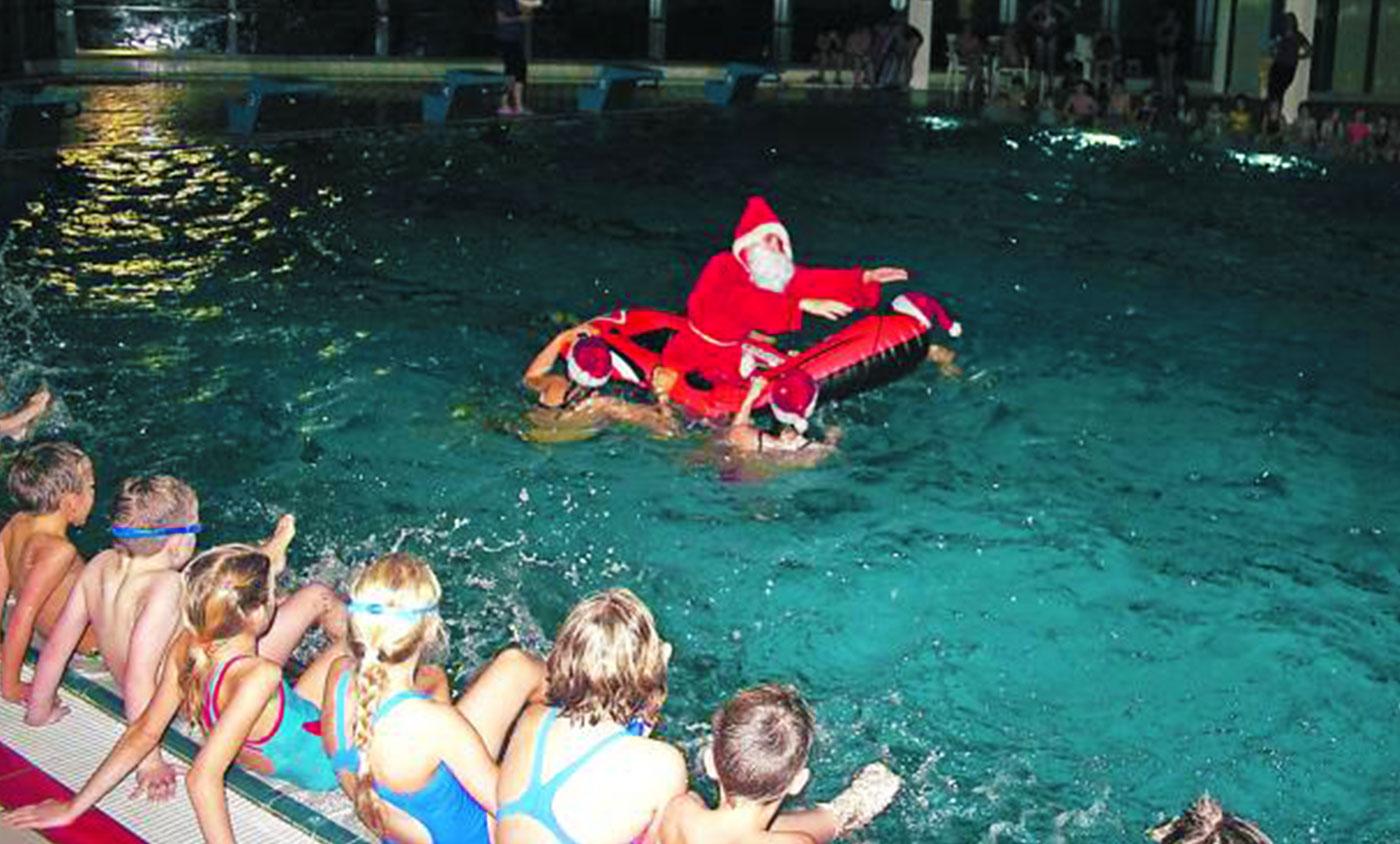 Wenn der Nikolaus baden geht