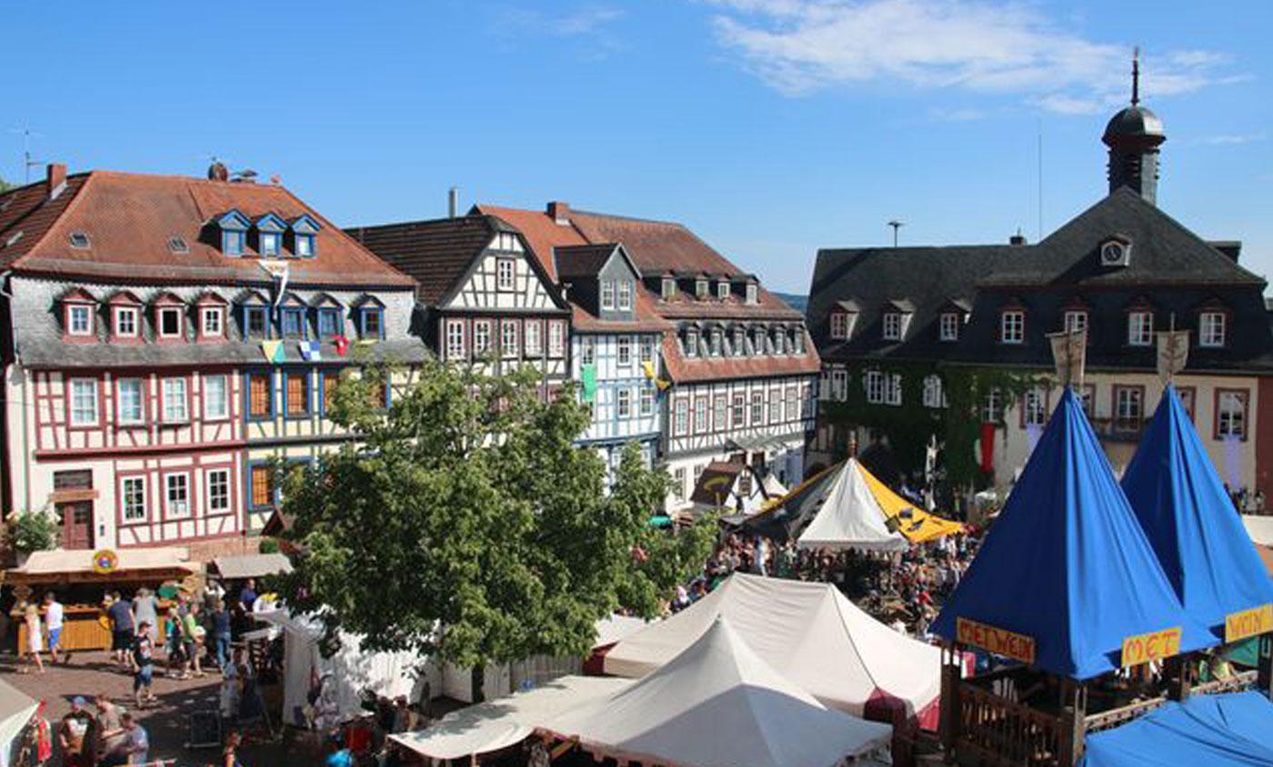 Der SV Gelnhausen bei der Stadtrechtsfeier