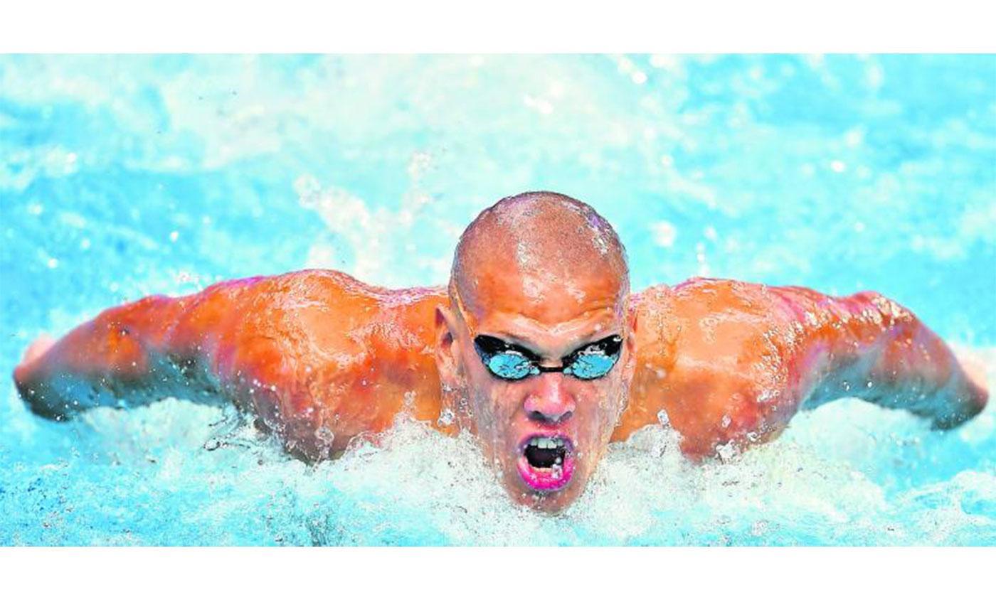 Topschwimmer Alexander Kunert