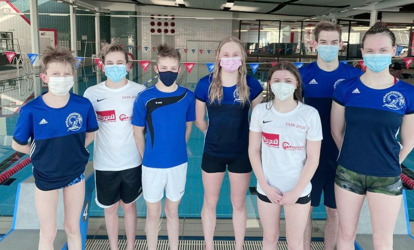 Die erfolgreichen SportlerInnen des SV-Gelnhausen