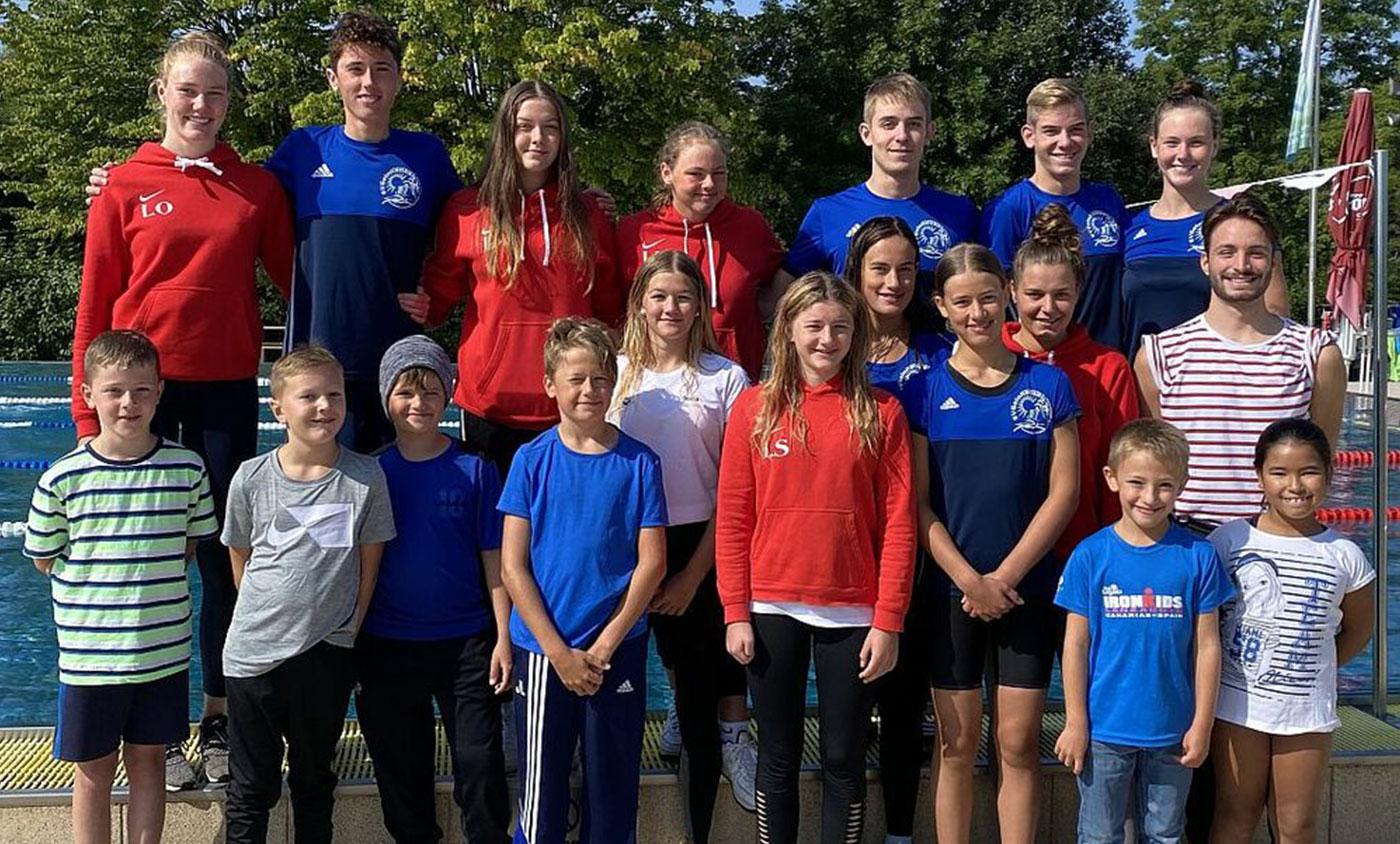 Gruppenbild aller Teilnehmer des SV Gelnhausen